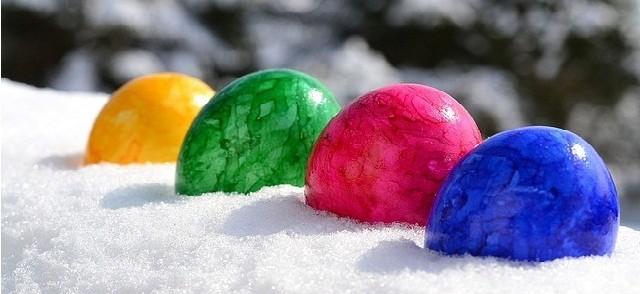 egg freezing in Ice (easter egg)