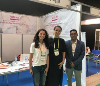 Keti osidze, innova medical, tbilisi with ARTbaby at Eshre 2018