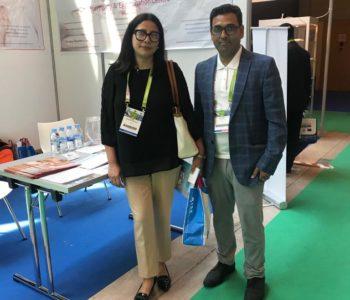 Dr. Sabina shrestha, IVF Nepal with team ARTbaby - Eshre 2018