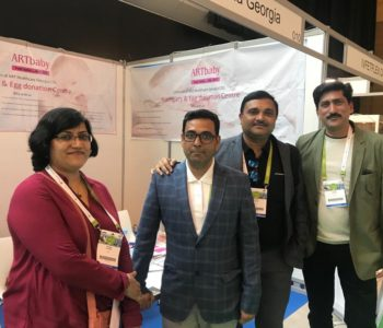 Dr. Rashmi Sharma, Origyn IVF, Team ARTbaby at Eshre 2018