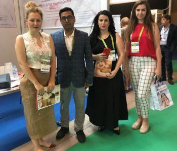 FatIinda Berisha Tahiri, Health tourism albania with ARTbaby India Georgia at Eshre 2018
