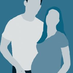 Couple pregnancy psychology and surrogate
